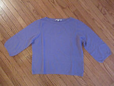 *NEW* BODEN BOAT NECK BELL SLEEVE KNIT PULLOVER SWEATER / JUMPER LILAC~16 US