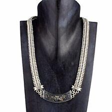 Einzelstück Massive Echt 925er SILBER Kette Halskette 50cm lang 12mm breit SN009