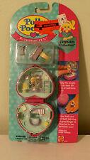 Vintage Polly Pocket Bluebird Keepsakes Collection Bathtime Fun Ring + Case 1994