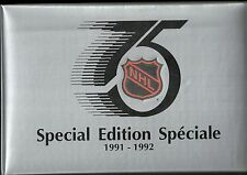 1991-92 Kraft Special Edition 92-card Hockey Set w/ Album  Mario Lemieux  +++