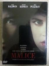 Malice (DVD, 1998)