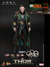 Hot Toys Loki + Aether Thor The Dark World Sideshow Exclusive NEW Sealed Shipper