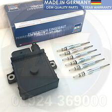 FOR BMW 5 SERIES E60 E61 530D 535D GLOW PLUGS & BERU RELAY CONTROL MODULE UNIT