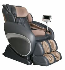 Charcoal Osaki OS-4000T Zero Gravity Massage Chair Recliner + 5 Year Warranty