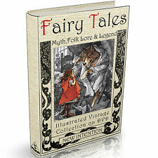 311 World Fairy Tales Folk Lore & Myth Books on DVD Illustrated Legend Grimm's