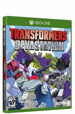 Transformers Devastation XBOX ONE USA VERSION RELEASE! NEW! GEN 1 TRANSFORMERS
