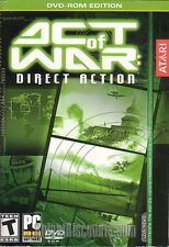 ACT OF WAR Direct Action Atari Strategy PC Game NEW BOX