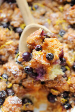 Riley's Recipe for Baked Blueberry Lemon French Toast