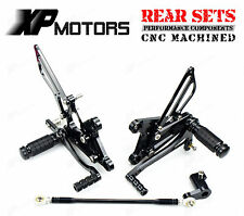 CNC Adjustable Rear Sets Footrests Rearsets for Honda CBR125R/CBR150R 2004-2010