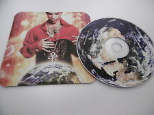 PRINCE PLANET EARTH DAILY MAIL PROMO ROUND CORNER CD ALBUM CARD SLEEVE 2007 NPG