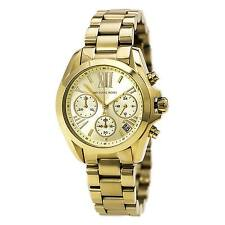 Michael Kors MK5798 Women's Bradshaw Gold Dial Gold Steel Bracelet Chrono Watch