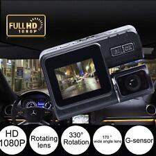 HD 1080P Dual Lens Car Vehicle DVR Camera Dashboard Video Recorder G Sensor Jz