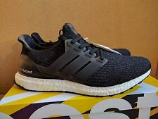 "Adidas Ultra Boost 3.0 ""Core Black"" Running Shoes Womens Sz 9.5 Mens 8 8.5"