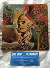"* Rare * THE FLAMING LIPS - ""Oh My Gawd!!!"" Original Release On Clear Vinyl"