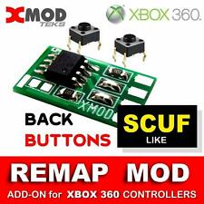 XBOX 360 ADD-ON MODDED CONTROLLER, MOD KIT, REMAP BUTTONS, PCB BOARD @ SCUF like