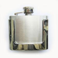 Blank 2oz Stainless Steel Flask Belt Buckle Gurtelschnalle Boucle de ceinture