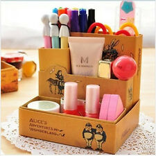 DIY Paper Board Fairy Tale Storage Box Desk Stationery Cosmetic Makeup Organizer