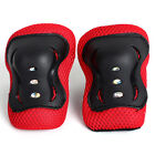 Kid Roller Skating Skateboard Knee Elbow Wrist Protective Guard Pad Gear Red New