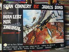 JAMES BOND 007 - MAN LEBT NUR ZWEIMAL Filmplakat Poster SEAN CONNERY - SELTEN!!!