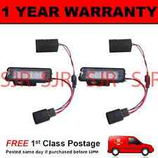 2X FOR PORSCHE 911 CARRERA GT2 TURBO BOXSTER 18 LED NUMBER PLATE LIGHT LAMP