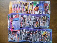 PANINI LIKE COMPLETE SET OF 125 CARDS CYCLING TOUR DE FRANCE 1998
