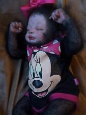 REBORN NEWBORN SASQUATCH BIGFOOT BABY GIRL MYTHICAL MONSTER CREATURE ARTIST DOLL