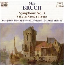Bruch: Symphony No. 3; Suite on Russian Themes, New Music
