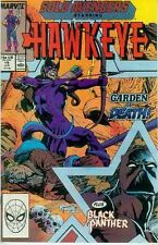 Solo Avengers # 19 (Hawkeye, Black Panther) (USA, 1989)