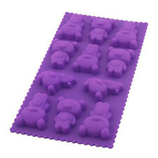 Lovely Bear Silicone Chocolate Ice Cube Cookie Jelly Mold Maker Bakeware Mould