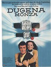 DUGENA - MONZA  -  alte   Annonce - advert  historische Reklame  Werbeseite