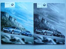 Prospekt BMW M5 Limousine und Touring, 1.2008, 58 Seiten + Preisliste 3.2008
