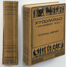 Olympic Games Juegos Olímpicos 1932 informe oficial Official Report olympis