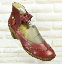 EL NATURALISTA Womens N481 Ambar Ankle Tie Pump Shoes Wedges Size 6 UK 39 EU