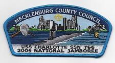 2005 Nat. Jamboree, Mecklenburg County JSP, Blue Brd., Mint!