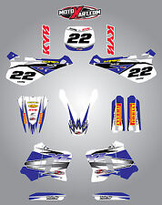 Yamaha YZ 250 - 1993 1994 1995  Full Graphic kit SHOCKWAVE Style decals stickers