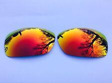 NUOVA Inciso Polarized Rosso Fuoco A Specchio Lenti di Ricambio Oakley Hijinx