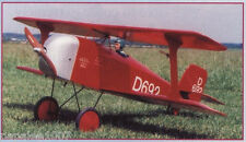 Model Airplane Plans (RC): STAAKEN Z-1 FLITZER 1/5 Scale Biplane for .35-.48