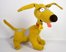 """Applause Rugrats Spike Puppy Dog 11"""" Plush Brown Red Collar Nickelodeon Vtg 1996"""