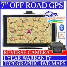 "7"" HD 4WD GPS + Reversing camera - off road 4X4 maps navigation"