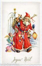 Père NOËL . Jouets . Anges . Santa CLAUS . Toys, angels