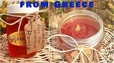 Pure Raw Honey Unfiltered Organic WildFlower Natural From Greek mountains 1kg