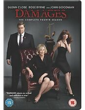 DAMAGES - THE COMPLETE FOURTH SEASON, SEALED 10 EPISODE 3 x DVD FROM 2012