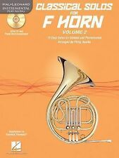 Classical Solos for F Horn, Vol. 2 : 15 Easy Solos for Contest and...