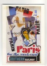 ap2938 - Southern Railway - Paris for the Weekend,  Picasso Style - Postcard