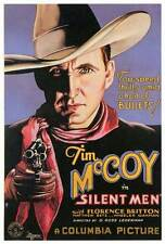 SILENT MEN Movie POSTER 27x40 Tim McCoy Florence Britton J. Carrol Naish Wheeler