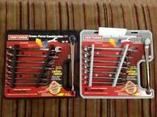 Craftsman Metric Sae Cross Force Combination Wrench Set, USA - Part # 46521,20