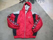 VINTAGE Fila Ski Snow Jacket Size Adult Size Small Red Grant Hill Coat Mens S