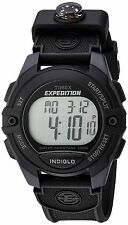 Timex TW4B07700, Men's Expedition Resin Watch, 3 Alarms, Indiglo, Compass