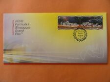 2008 FDC Singapore First Day Cover - 2008 Formula 1 Singapore Grand Prix