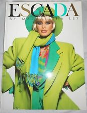 ESCADA Vintage Fashion Catalog Book Advertising  Marketing Autumn Winter 1991 25